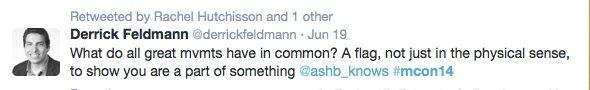 Millennial Engagement Derrick Feldmann Tweet