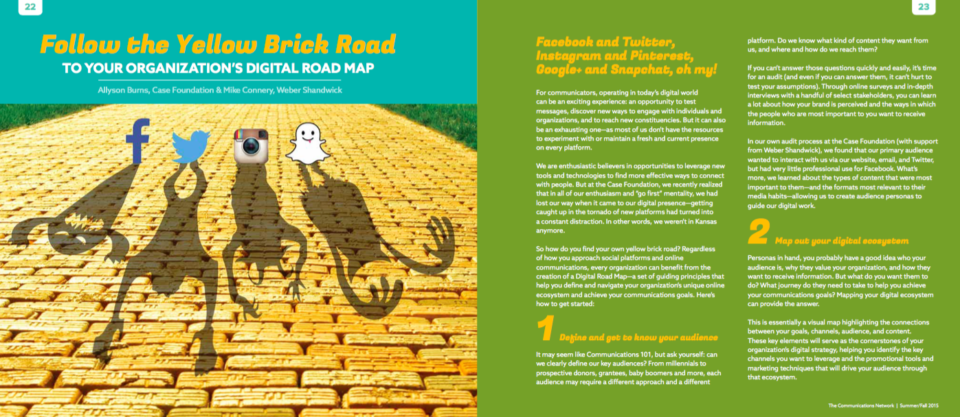 Digital Road Map 1