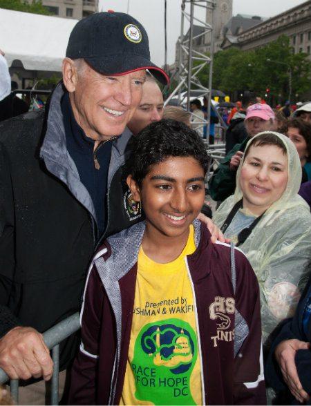 Race For Hope 2016 Biden