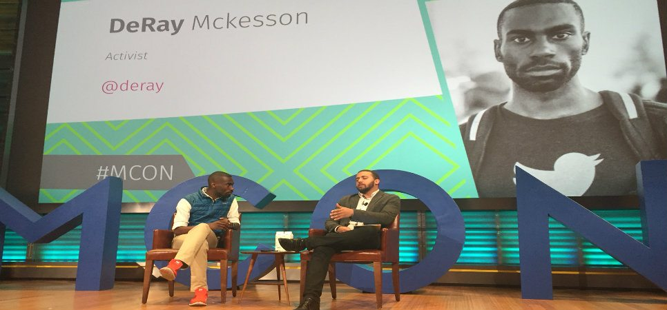 DeRay Mckesson MCON2016