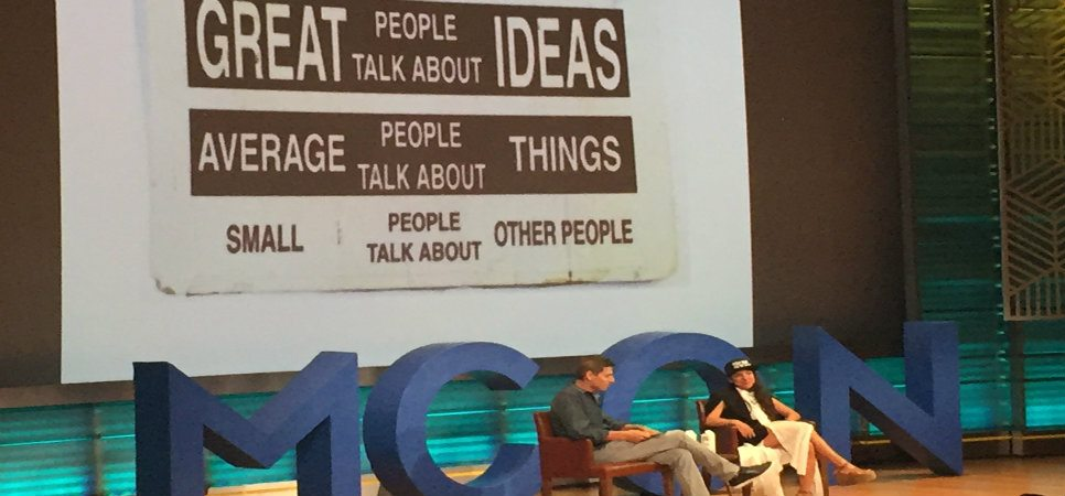 Miki Agrawal of THINX at MCON 2016